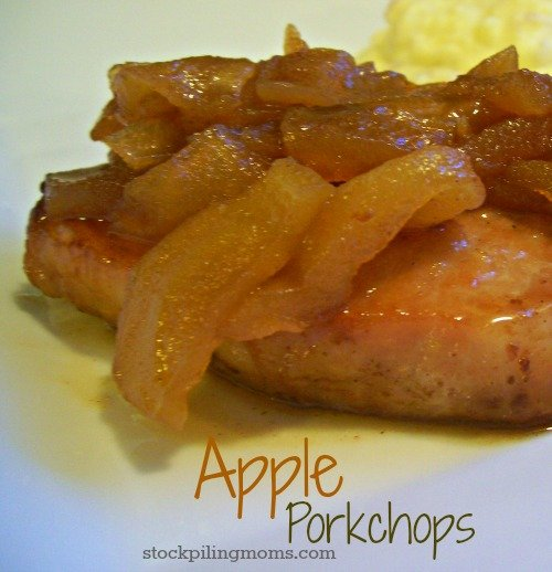 Apple Porkchops are naturally gluten free and taste delicious!