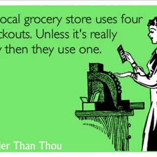 Grocery Store Checkout Comic – LOVE this one!
