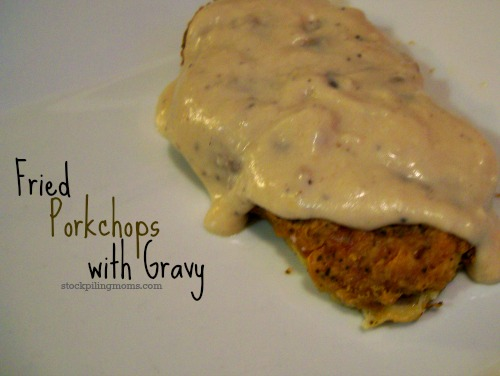Fried Porkchops and Gravy is truly southern comfort food for me! I hope you give this delicious recipe a try!