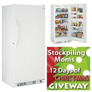 12 Days of Christmas #Giveaway #1 :: Kenmore 20.6 Upright Freezer :: CLOSED