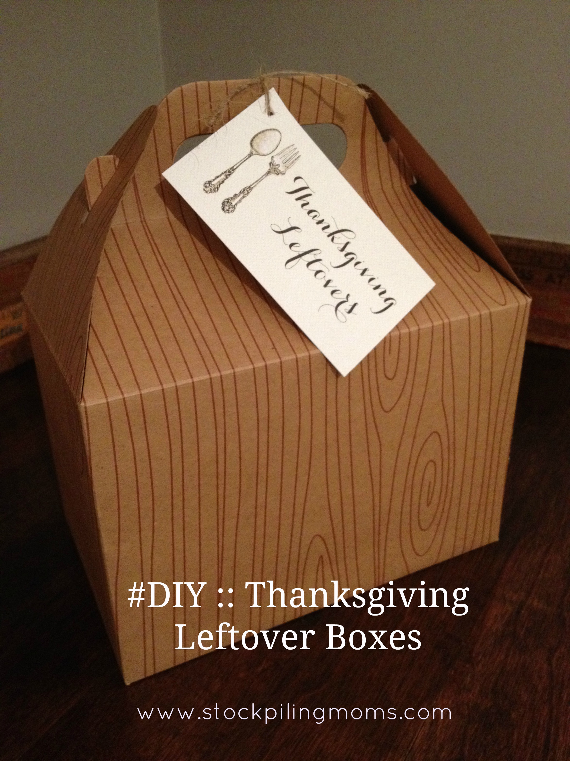 How To Make Thanksgiving Leftover Boxes