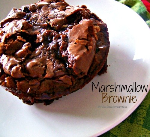 This gooey Marshmallow Brownie is the yummiest! You have got to give this recipe a try!
