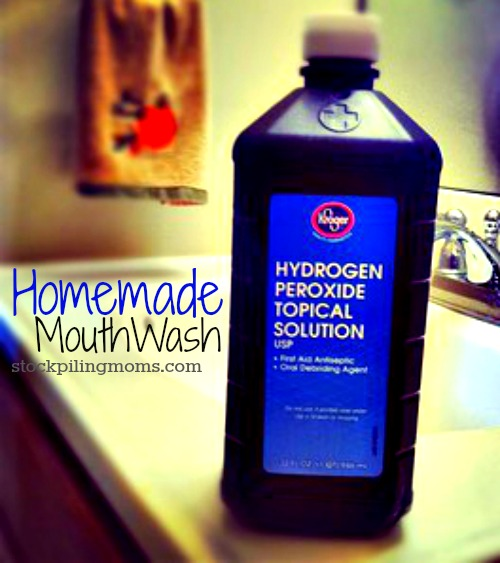 Homemade MouthWash - STOCKPILING MOMS™