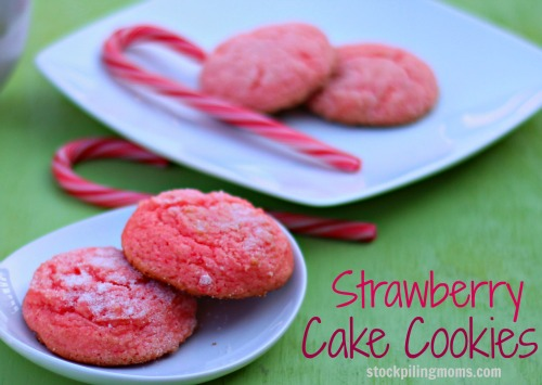 Strawberry Cake Cookies are simply to prepare and taste AMAZING! No one will realize they are cake mix cookies!