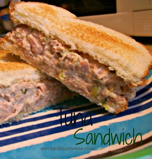 Tuna is an affordable lunch idea when you are on a budget.