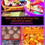 What can we do with all the halloween candy