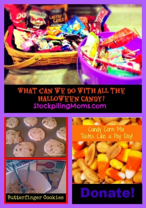 What can we do with all the halloween candy?