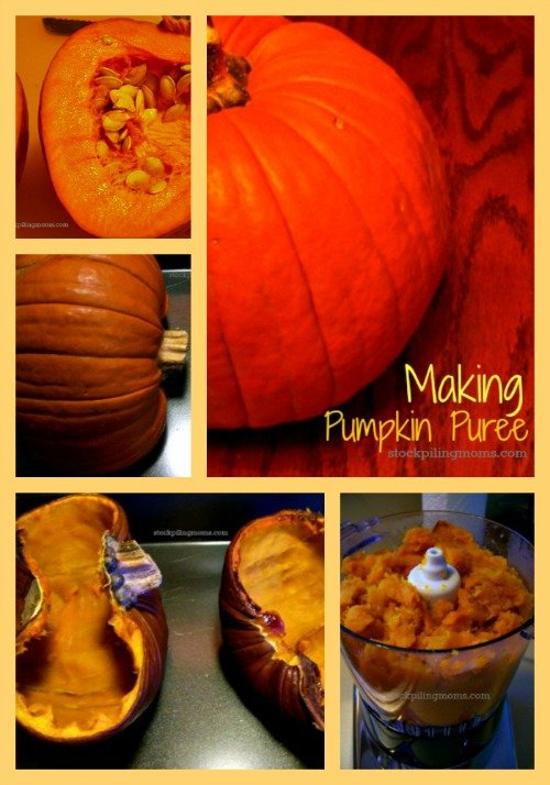 How to Make Homemade Pumpkin Puree - This is a great money saving tip!