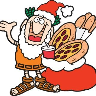 12 Days of Christmas #Giveaway #12:: Little Caesars Gift Pack :: CLOSED