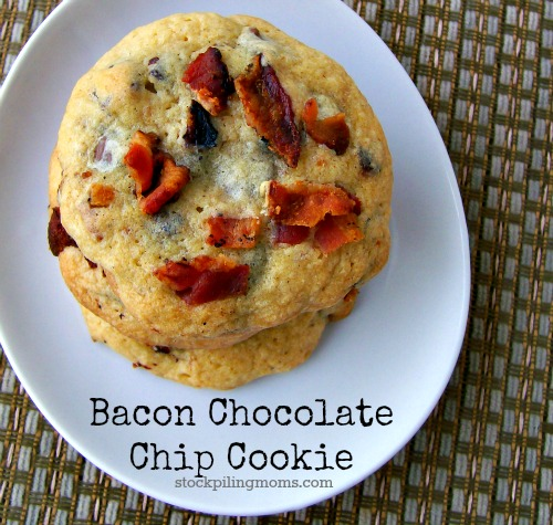 Bacon Chocolate Chip Cookies are absolutely AMAZING! I mean you really can't go wrong with this combination!