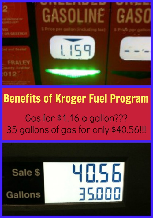 Benefits of Kroger Fuel Program