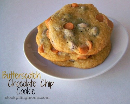 Butterscotch Chocolate Chip Cookie 2