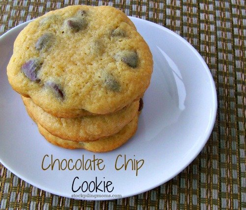 Who doesn't love a good moist Chocolate Chip Cookie??? This is the BEST one I have ever tried.