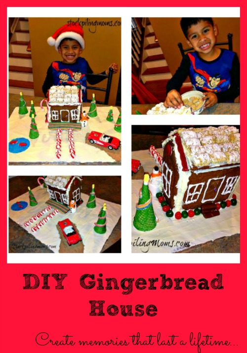 Making a gingerbread house is our favorite Holiday tradition - Lots of great ideas!