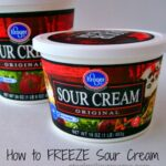 Freeze Sour Cream