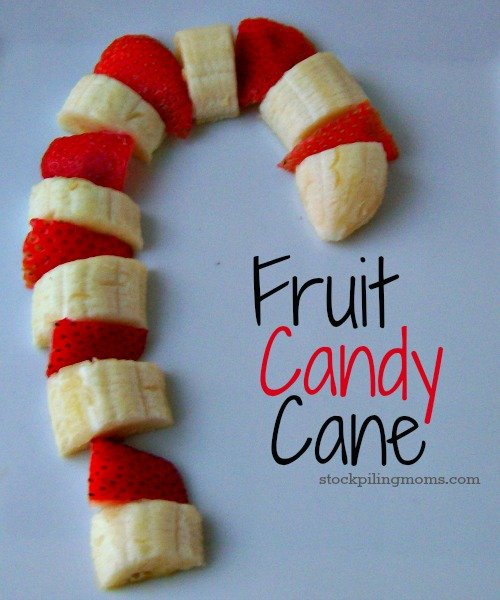 A healthy twist on a traditional candy cane. This fruit candy cane is perfect for Christmas morning!