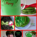 Grinch Party Collage
