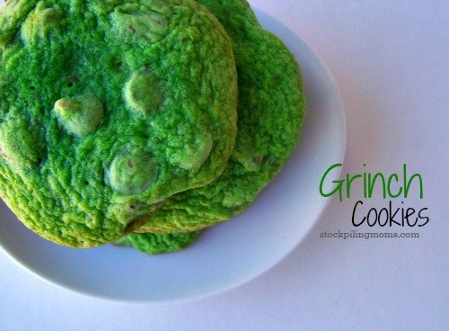 Tis' the Season for the Grinch and with these Grinch cookies you will have all smiles!