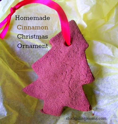Homemade Cinnamon Christmas Ornament
