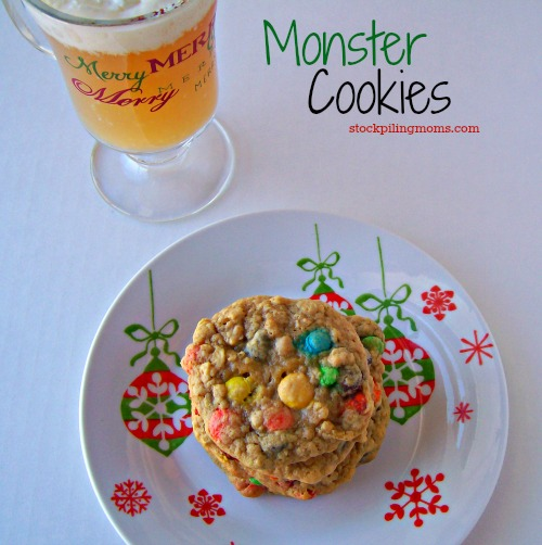 Monster Cookies are my FAVORITE! They are the everything cookie that everyone loves!
