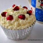 Pomegrante Cupcakes