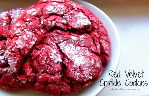Red Velvet Crinkle Cookies are the BEST Christmas cookie you will ever eat and so easy to make!