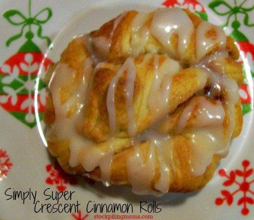 An easy and delcious crescent cinnamon roll! Perfect for those cold mornings! #easybreakfastrecipe