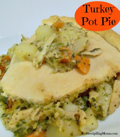 Turkey Pot Pie is a delicious comfort food that is perfect to make after Thanksgiving.
