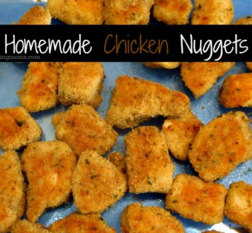 Homemade Chicken Nuggets are my favorite lunch to make for my kids. They love it and I love knowing that it is made with fresh ingredients.