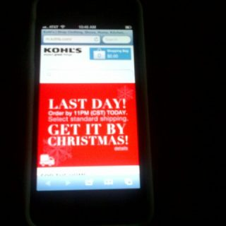 Kohl's Coupons – Use Your Smartphone & Save