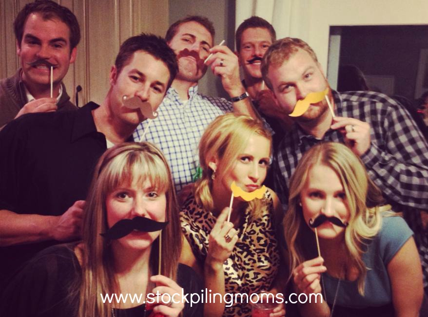 DIY Photo Props are perfect for New Year's Eve Parties and Weddings