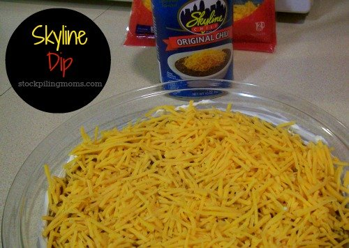 We love to make Skyline Dip. Our favorite appetizer! #Cincinnati
