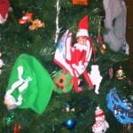 The Elf on the Shelf® Day 3 – Camp Trick