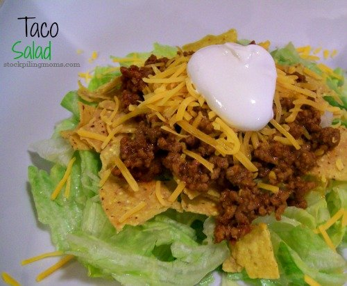 Easy Taco Salad is the perfect lunch for busy days.