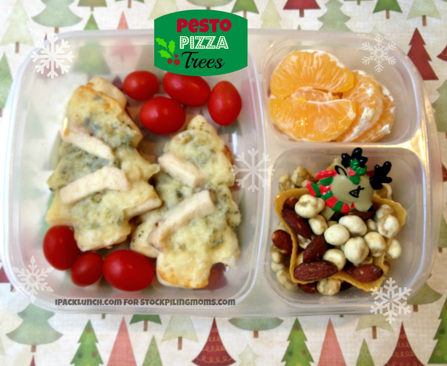 3 for 3 Lunchbox Challenge featuring Chicken shortcuts, grape tomatoes and oranges - perfect for the Holidays