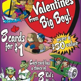 Frisch's Valentine's Cards :: 8 cards for $1