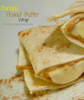 Banana-Peanut-Butter-Wrap