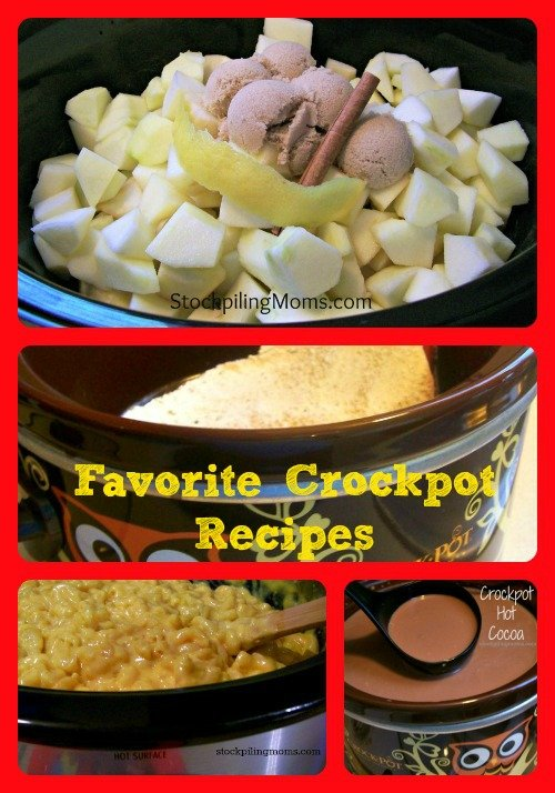 Favorite Crockpot Recipes