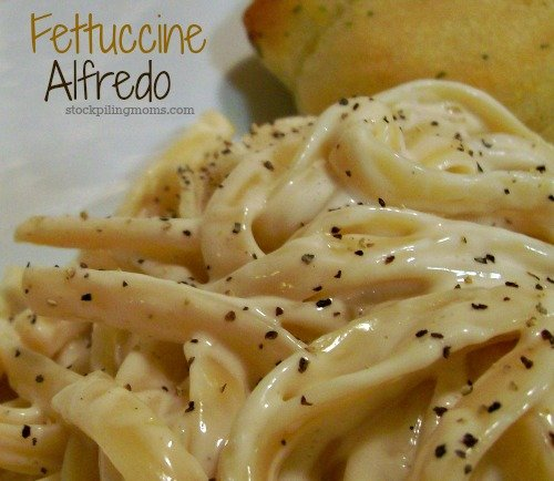 Fettuccine Alfredo is a delicious recipe that is perfect for Lent