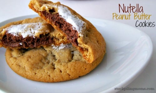 Is there anything better than a Nutella Peanut Butter Cookie? I think not. Check out this easy way to create this treat!