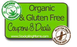 Organic & Gluten Free Coupons and Deals