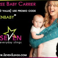 Free Baby Sling + Shipping and Handling!
