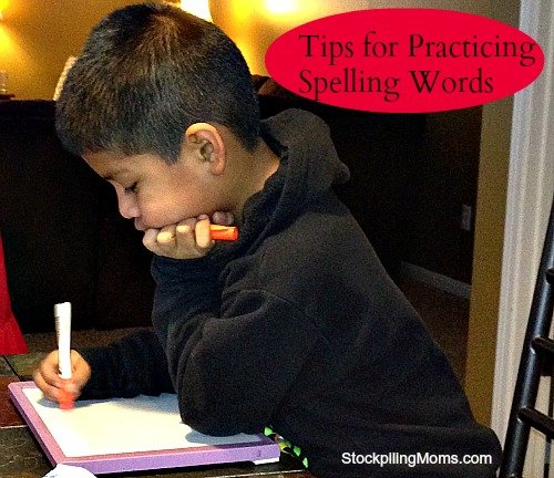 Tips for Practicing Spelling Words with Young Children