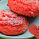 Valentine Strawberry Cookie