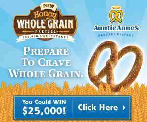 Enter for your chance to win $25,000 from Auntie Anne's!