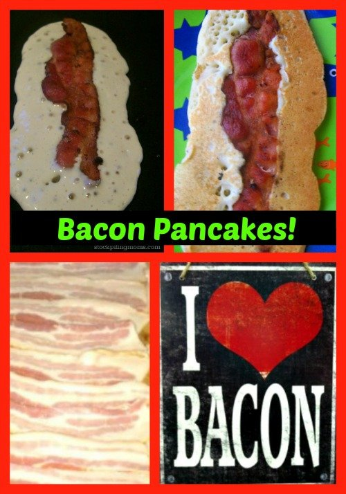 I mean, you can't get better than bacon pancakes! They are so yummy!