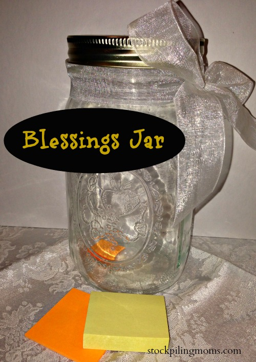 Love to make this Blessing Jar and give it as a Christmas present.  Such an affordable and heartfelt gift!