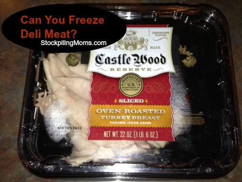 Can you freeze deli meat? Yes, you can. It is a great way to save money!