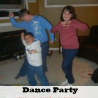 Frugal Family Fun = Dance Party