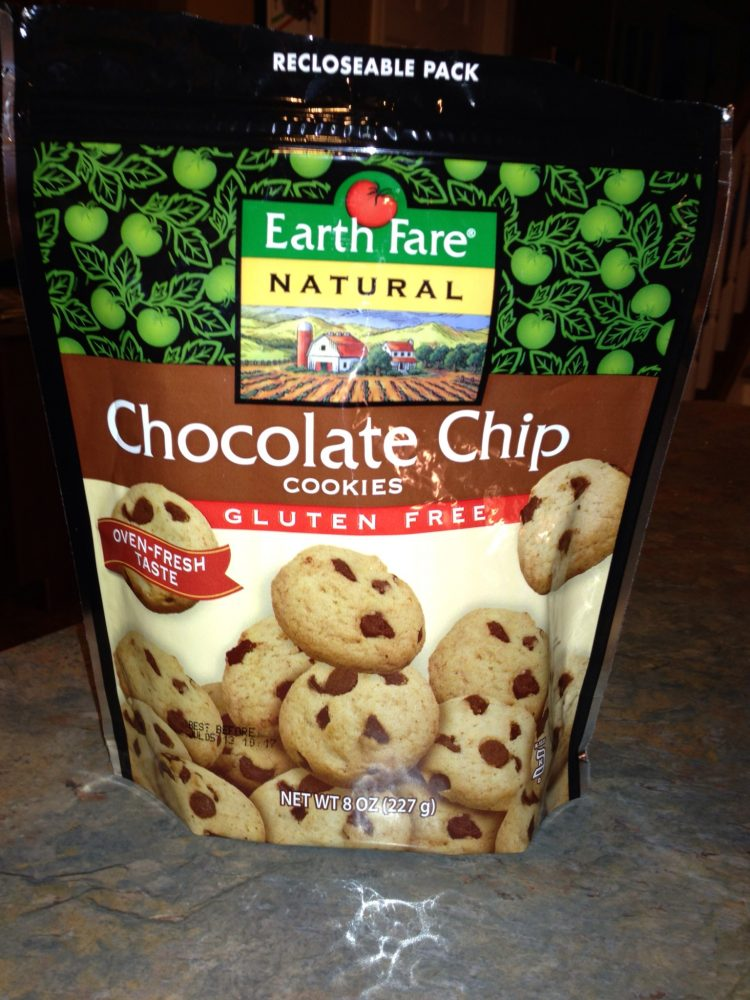 Earth Fare Natural :: Chocolate Chip Cookies :: Gluten Free